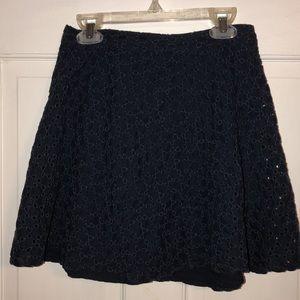 Dresses & Skirts - Navy Blue Circle Skirt
